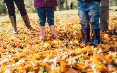 Why autumn and winter family shoots are amazing!