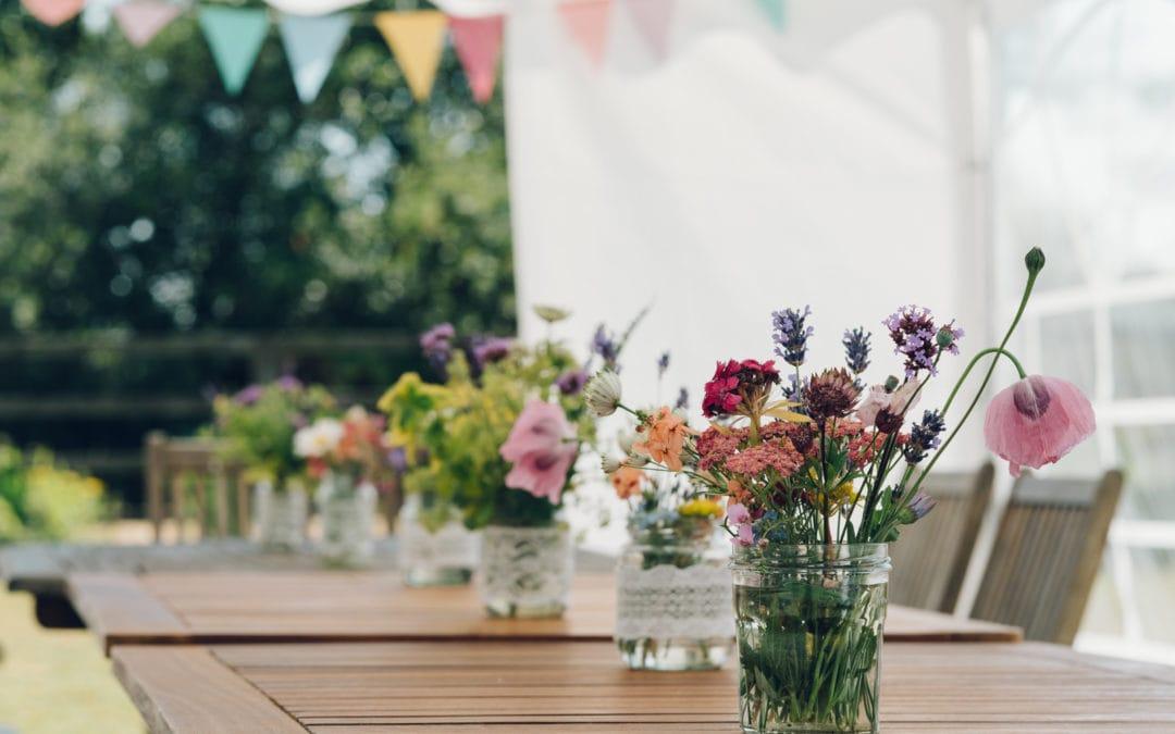 A Summer Garden Party – Fun Family Photography