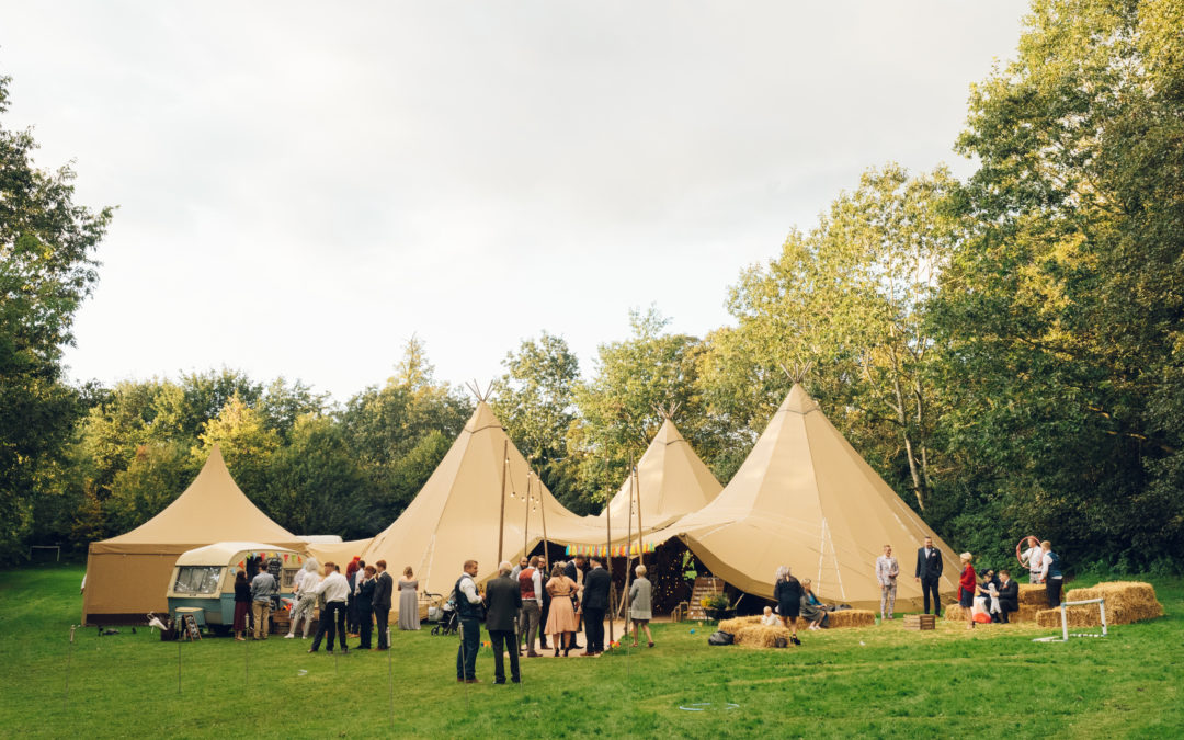 Jolie and Kieran's Magical Hidden Tipi Wedding