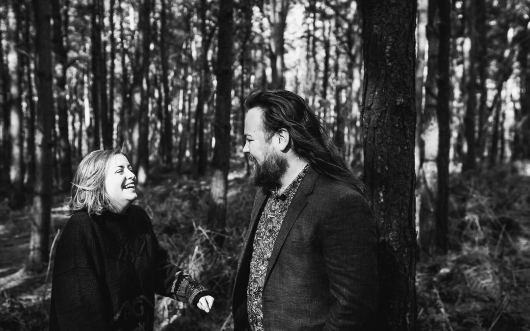 Jess & Panda Delamere Forest Engagement Shoot